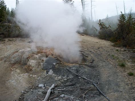 Steam Vent at Yellowstone | National Geographic Society