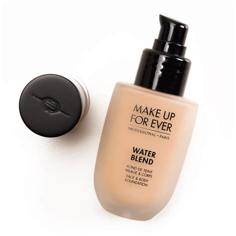 Make Up For Ever Water Blend Foundation Review, Photos