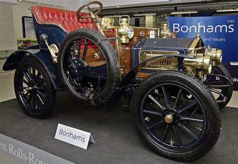 First Versions: Rolls-Royce: 1st model ever