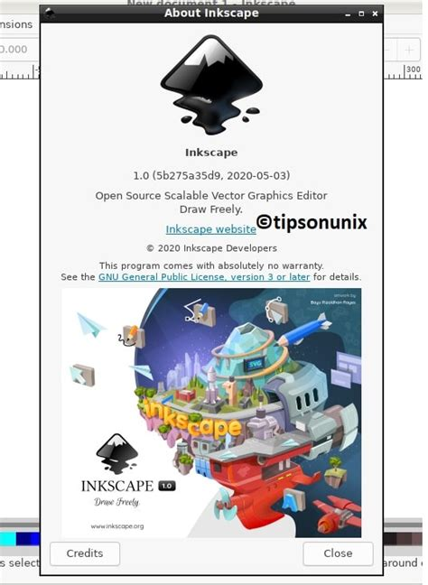 Install Inkscape 1